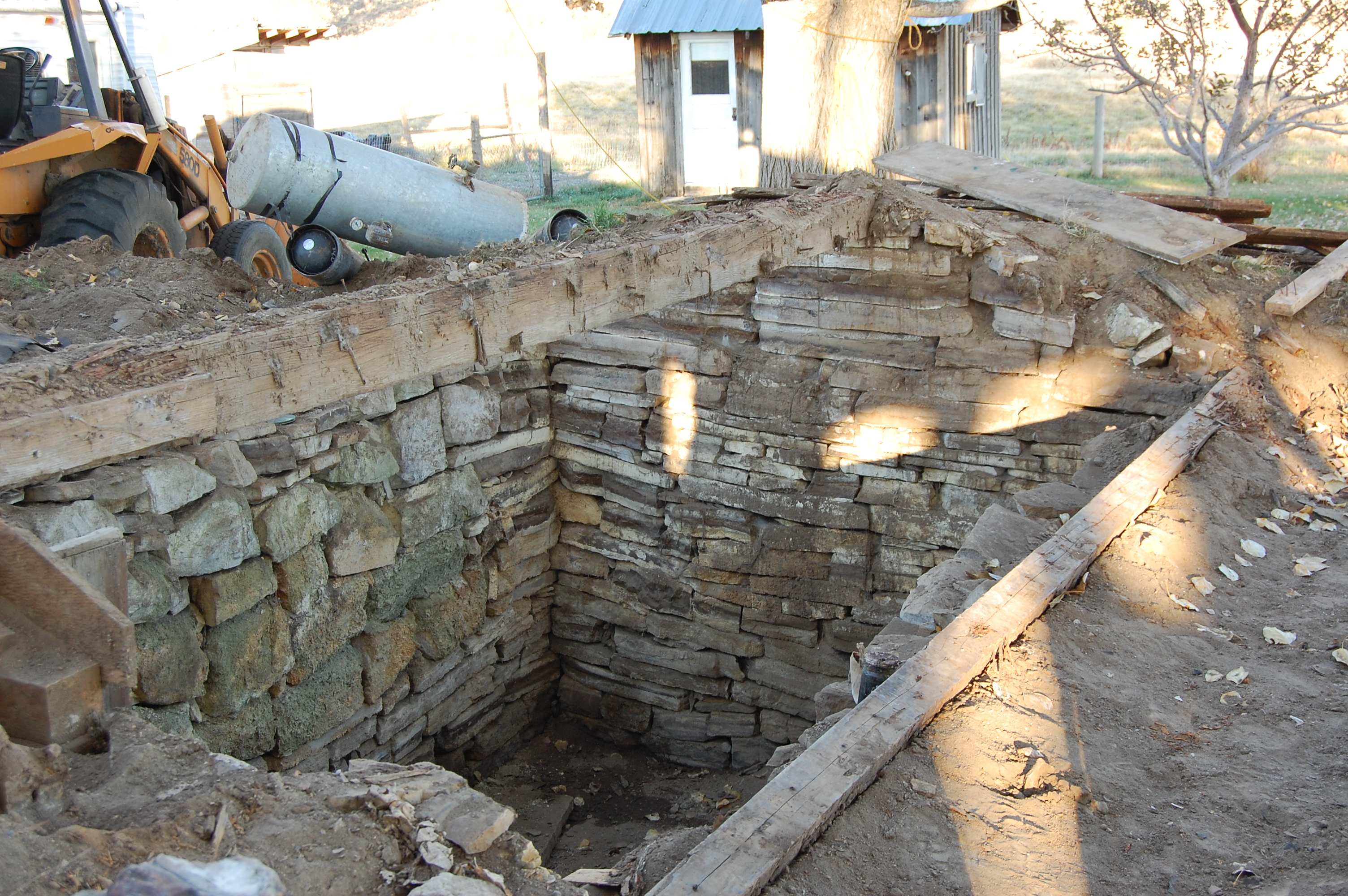 Old root cellar in basement images for Building a basement