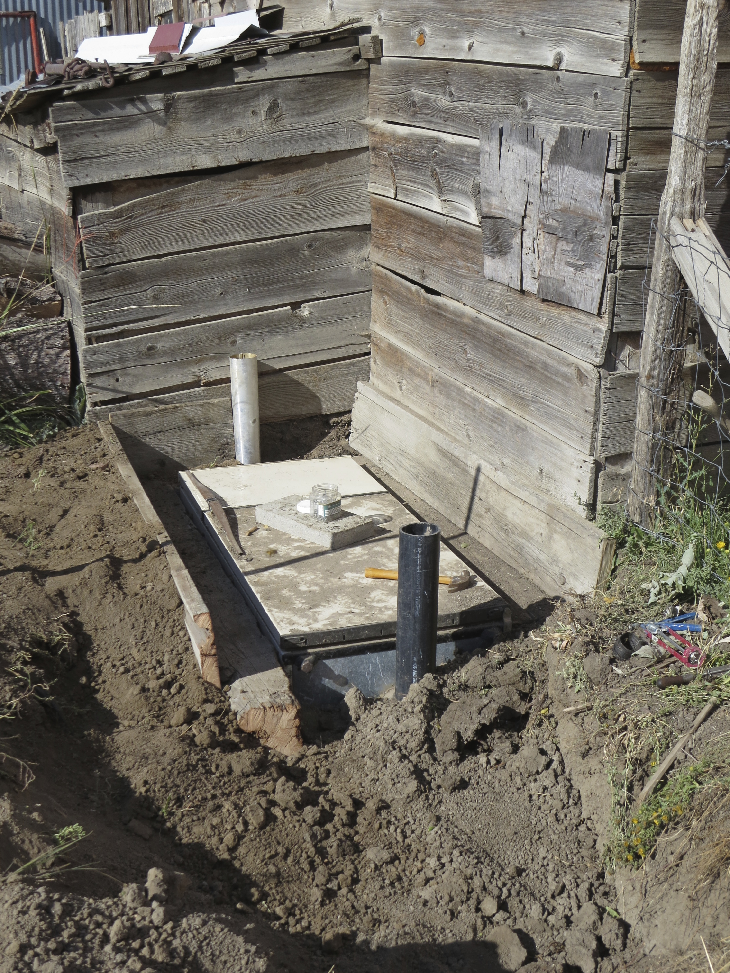 Reuse It Building A Root Cellar Out Of An Old
